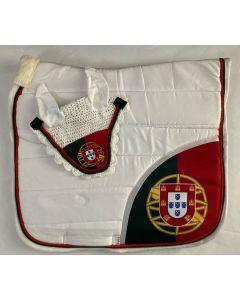 Zadeldek Portugal wit