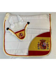 Zadeldek Spanje wit